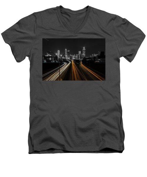 Atlanta Tones Men's V-Neck T-Shirt