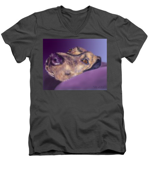 Atma Men's V-Neck T-Shirt