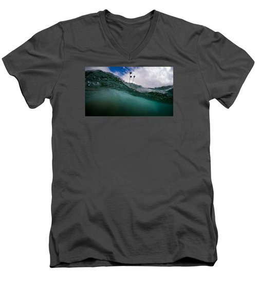 Atmospheric Pressure Men's V-Neck T-Shirt by Sean Foster