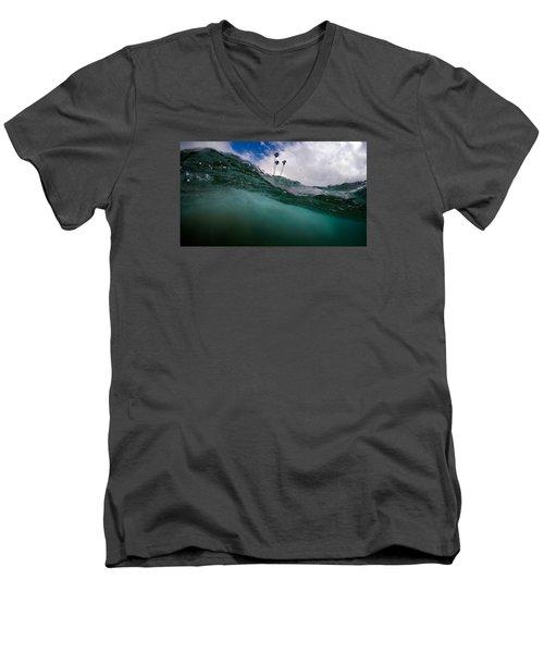Atmospheric Pressure Men's V-Neck T-Shirt