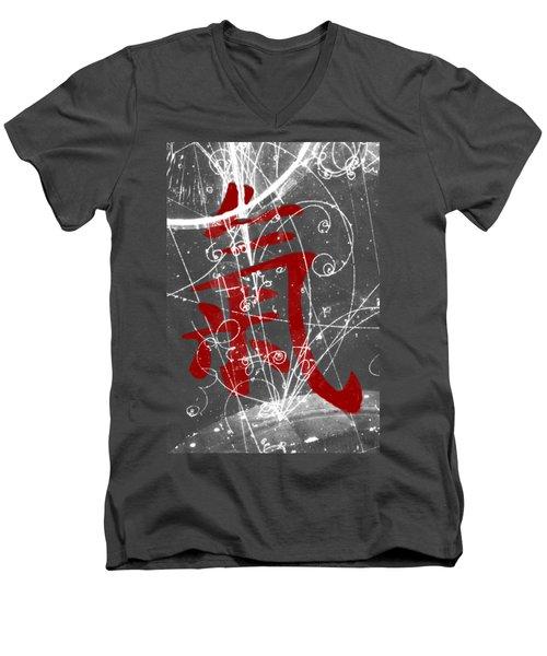 Atomic Ki Men's V-Neck T-Shirt