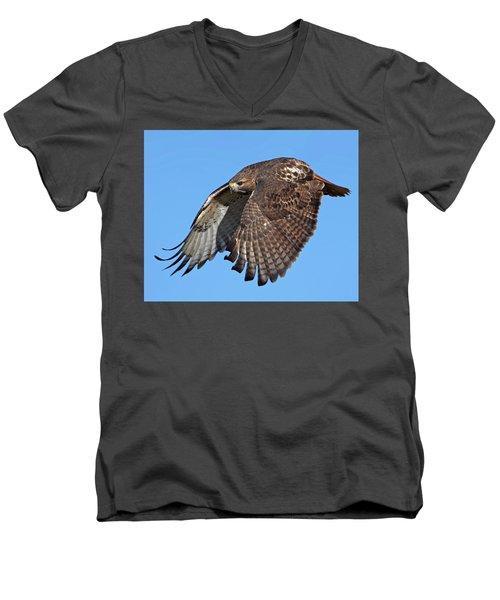 Attack Mode Men's V-Neck T-Shirt by Stephen Flint