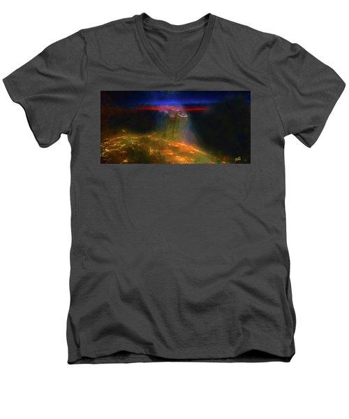 Attack Of The Aliens Men's V-Neck T-Shirt