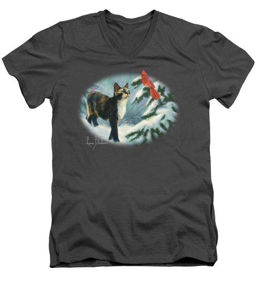 Attentive Men's V-Neck T-Shirt
