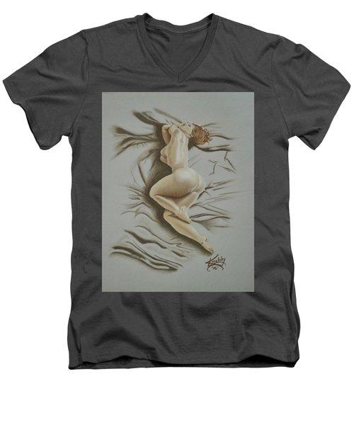 Au Naturel Men's V-Neck T-Shirt
