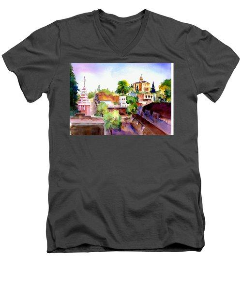 Auburn Old Town Men's V-Neck T-Shirt