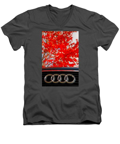 Audi Men's V-Neck T-Shirt