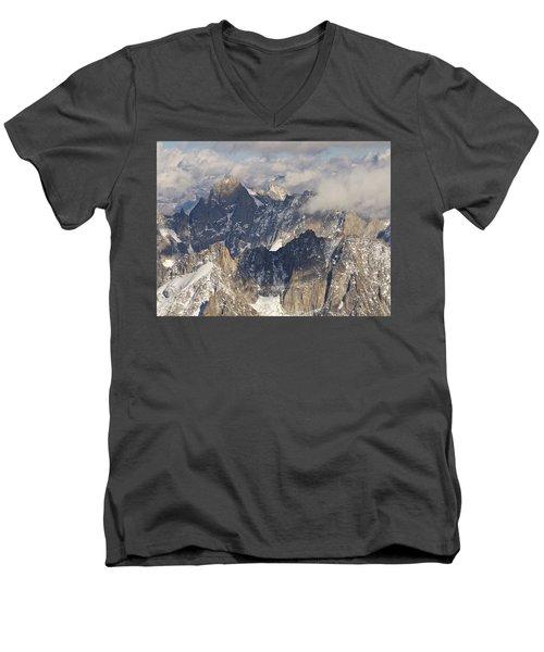 Auguille Du Midi Men's V-Neck T-Shirt