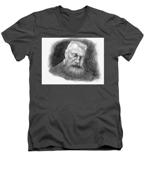 Auguste Rodin Men's V-Neck T-Shirt