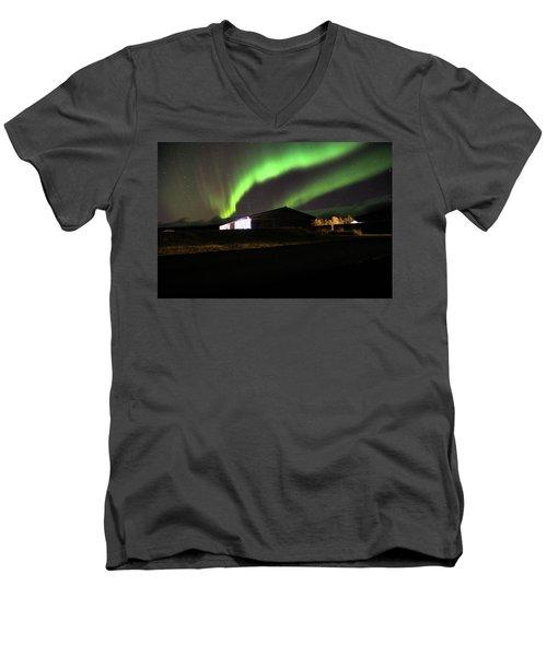 Aurora Borealis - 1 Men's V-Neck T-Shirt