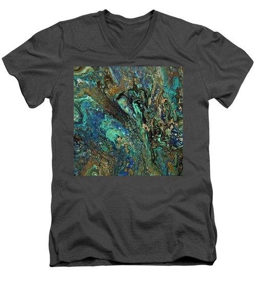 Aurora Men's V-Neck T-Shirt