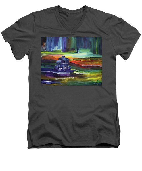 Aurora Men's V-Neck T-Shirt