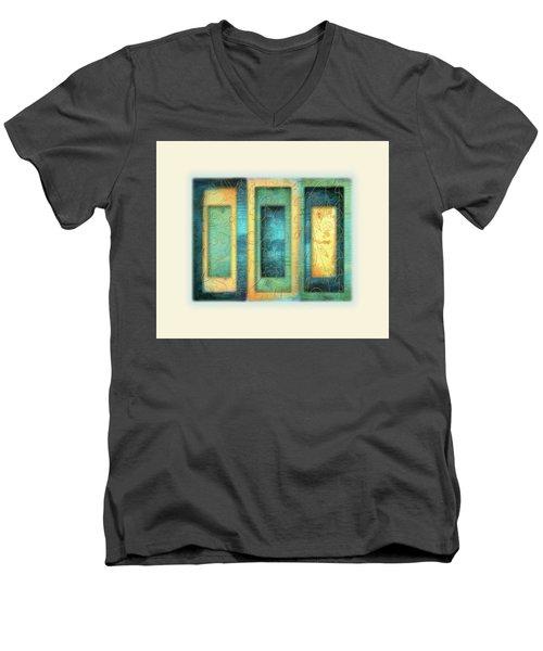 Aurora's Vision Men's V-Neck T-Shirt