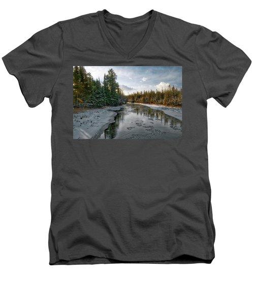 Ausable River 1282 Men's V-Neck T-Shirt