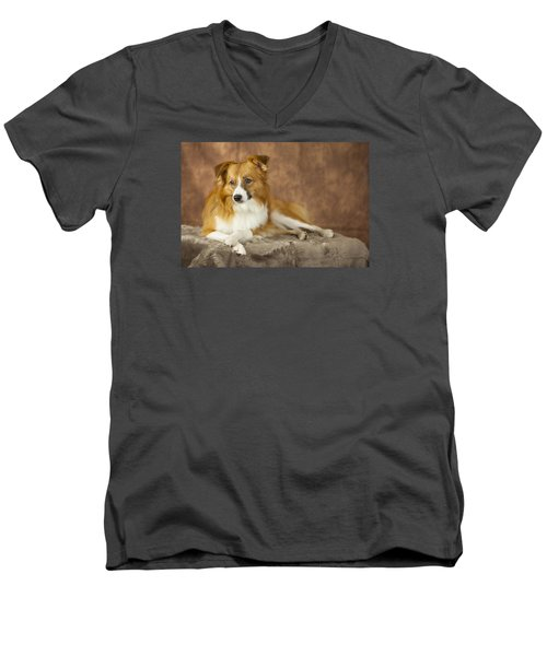 Aussie Pose 4 Men's V-Neck T-Shirt