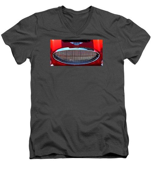 Austin Healey Grille Men's V-Neck T-Shirt