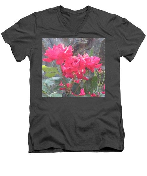 Austin Roses Men's V-Neck T-Shirt