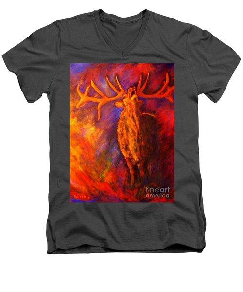 Autum-serenade Men's V-Neck T-Shirt