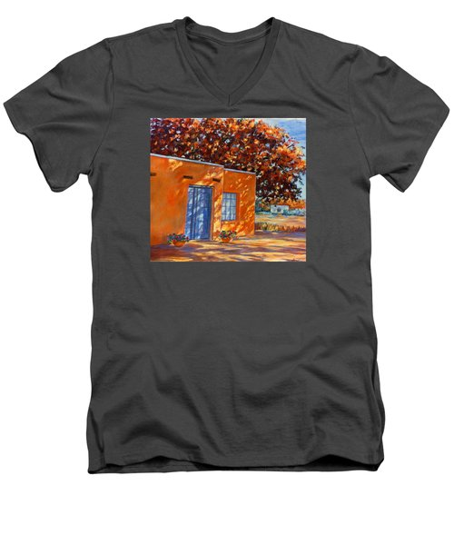 Autumn Afternoon Men's V-Neck T-Shirt by Ann Peck