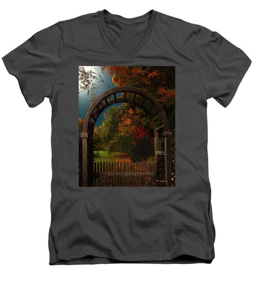 Autumn Archway Men's V-Neck T-Shirt