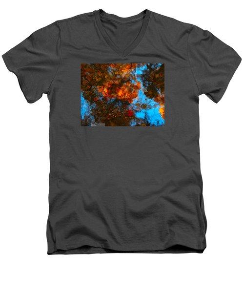 Autumn B 2015 35 Men's V-Neck T-Shirt by George Ramos