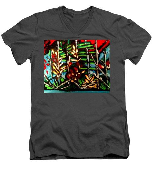 Autumn Blaze1 Men's V-Neck T-Shirt