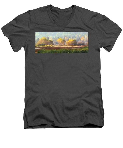 Autumn Bouquet Men's V-Neck T-Shirt