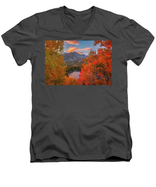 Autumn's Breath Men's V-Neck T-Shirt