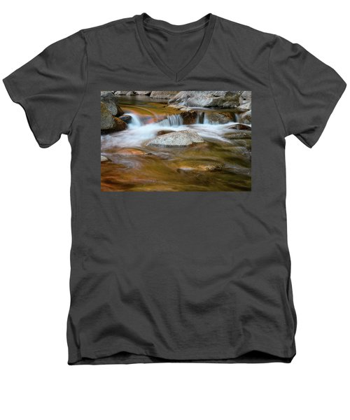 Autumn Cascade Nh Men's V-Neck T-Shirt