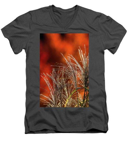 Autumn Fire - 1 Men's V-Neck T-Shirt