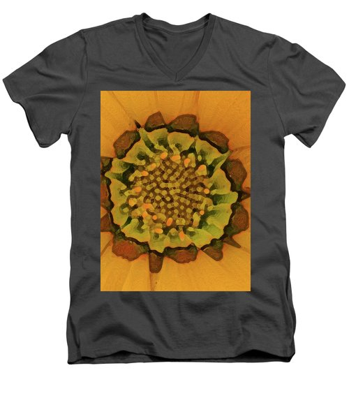 Autumn Flower Men's V-Neck T-Shirt