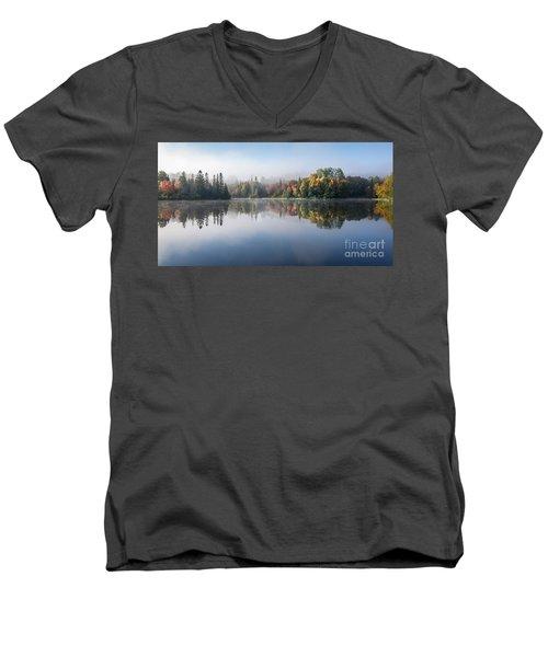 Autumn Impression Men's V-Neck T-Shirt