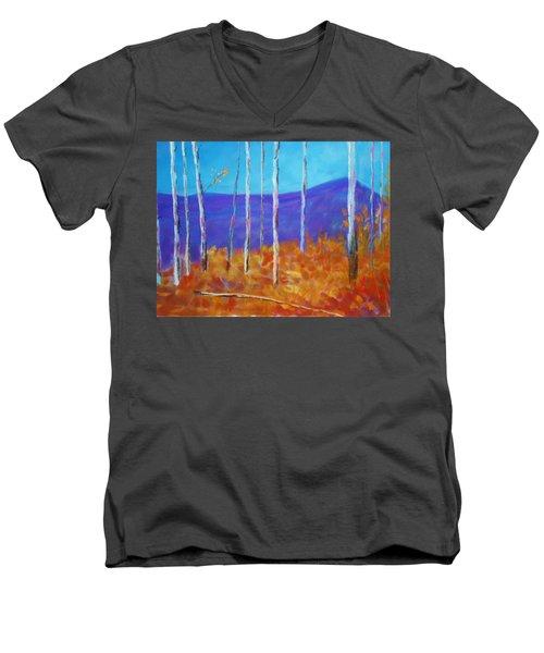 Autumn In Cloudcroft Men's V-Neck T-Shirt