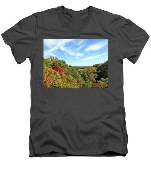 Autumn Lookout Men's V-Neck T-Shirt