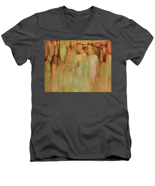 Autumn Mist Men's V-Neck T-Shirt