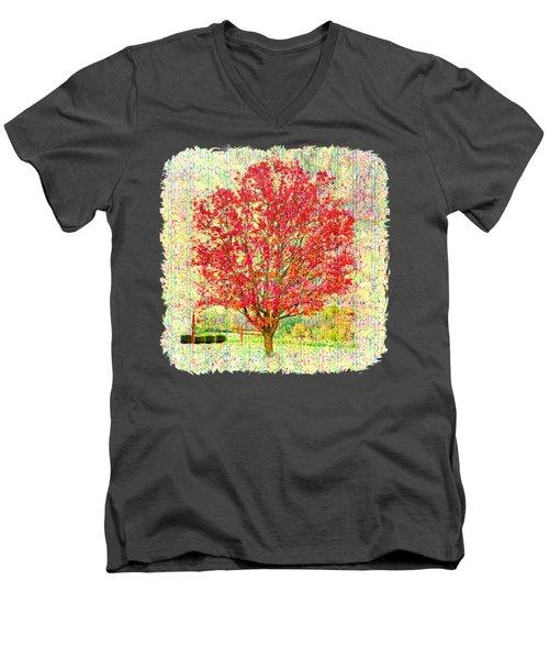 Autumn Musings 2 Men's V-Neck T-Shirt
