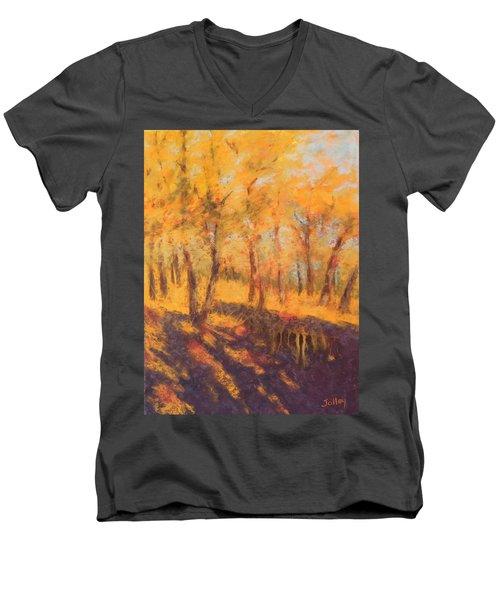 Autumn Oaks Men's V-Neck T-Shirt