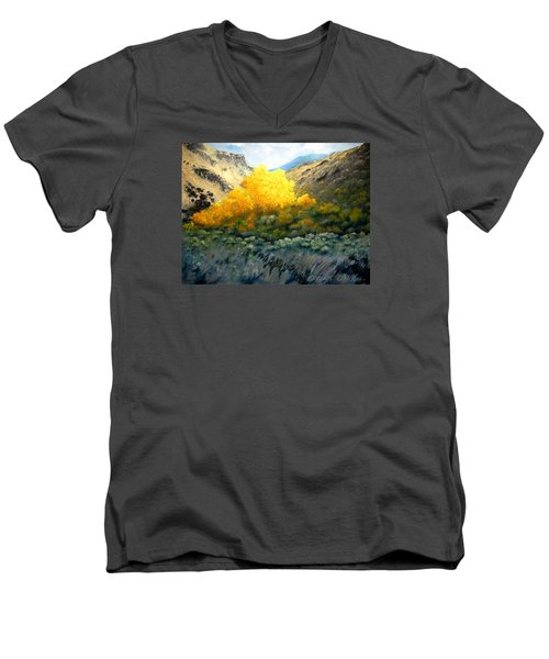 Autumn-southhills Men's V-Neck T-Shirt