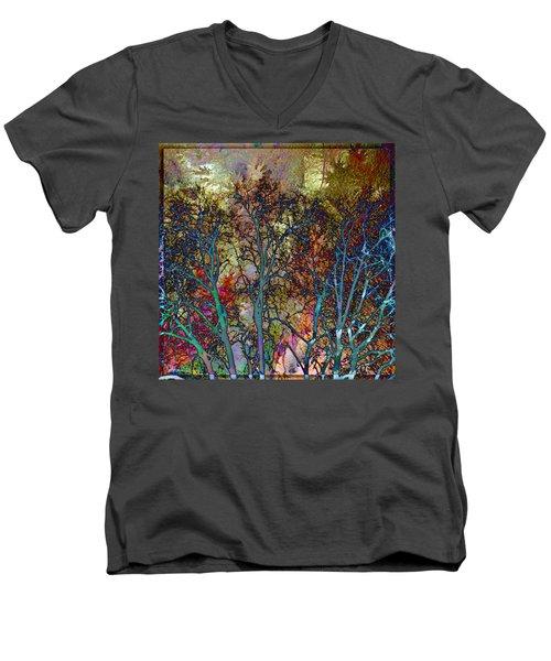 Autumn Woods Men's V-Neck T-Shirt