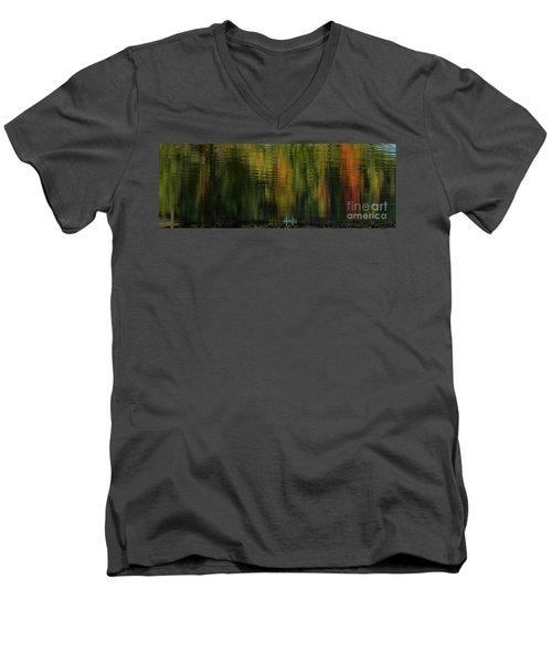 Autumnal Reflections Men's V-Neck T-Shirt