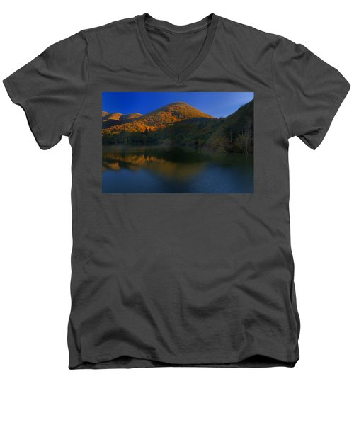 Autunno In Liguria - Autumn In Liguria 3 Men's V-Neck T-Shirt