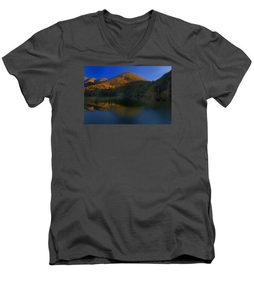 Autunno In Liguria - Autumn In Liguria 3 Men's V-Neck T-Shirt