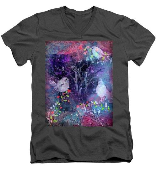 Avian Midnight Men's V-Neck T-Shirt