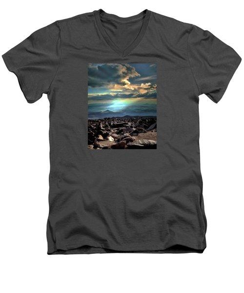 Awareness ... Men's V-Neck T-Shirt