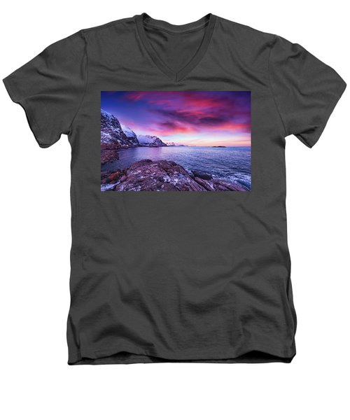 Away From Today Men's V-Neck T-Shirt