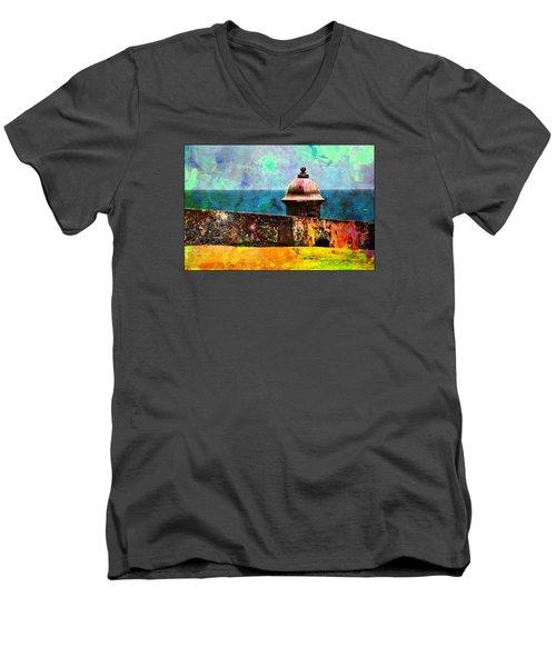 Awesome Caribbean Men's V-Neck T-Shirt