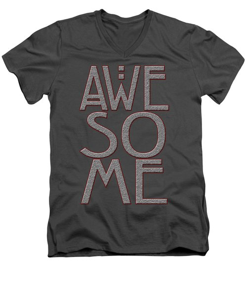 Awesome Men's V-Neck T-Shirt
