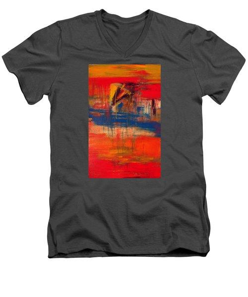 AXE Men's V-Neck T-Shirt