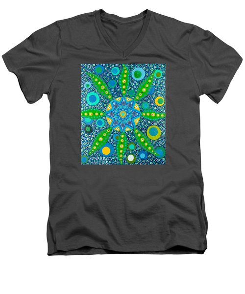 Ayahuasca Vision - Inside The Plant Cell  May 2015 Men's V-Neck T-Shirt