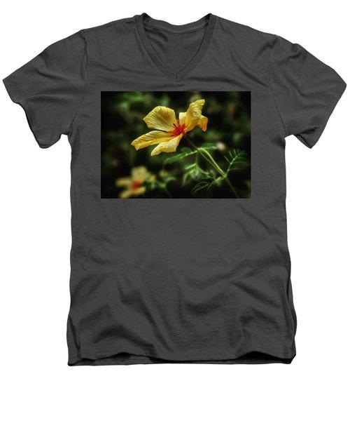 Az Poppy Men's V-Neck T-Shirt